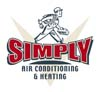 Logos • Simply Air Conditioning Logo Option 3 by Greg Dampier All Rights Reserved.