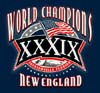 T Shirts • Sports Related • New England World Champs1 by Greg Dampier All Rights Reserved.