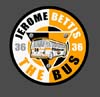 T Shirts • Sports Related • Pittsburgh Jerome Bettis 5 by Greg Dampier All Rights Reserved.