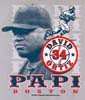 T Shirts • Sports Related • Boston Papi David Ortiz by Greg Dampier All Rights Reserved.