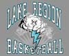 T Shirts • Sports Related • Lake Region Basketball by Greg Dampier All Rights Reserved.