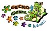 T Shirts • Youth Designs • Gecko Girl Floral by Greg Dampier All Rights Reserved.