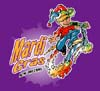T Shirts • Youth Designs • Mardi Gras Scooter Boy by Greg Dampier All Rights Reserved.