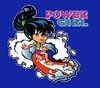 T Shirts • Youth Designs • Hawaii Power Girl Surf by Greg Dampier All Rights Reserved.