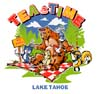 T Shirts • Youth Designs • Tea Time Lake Tahoe by Greg Dampier All Rights Reserved.
