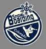 T Shirts • Travel Souvenir • Colorado Snow Boarding by Greg Dampier All Rights Reserved.