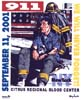 T Shirts • September 11th • Fireman Sadness 911 by Greg Dampier All Rights Reserved.