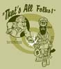 T Shirts • Miscellaneous Events • Bush Osama Thats All Folks by Greg Dampier All Rights Reserved.