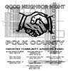 T Shirts • Miscellaneous Events • Polk County Good Neighbor Night by Greg Dampier All Rights Reserved.