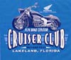 T Shirts • Vehicle Related • Fun Bike Center Cruiser Club by Greg Dampier All Rights Reserved.