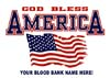 T Shirts • Blood Bank • God Bless America by Greg Dampier All Rights Reserved.