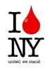 T Shirts • Blood Bank • I Love Ny by Greg Dampier All Rights Reserved.
