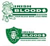 T Shirts • Blood Bank • Irish Blood by Greg Dampier All Rights Reserved.