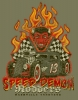 T Shirts • Travel Souvenir • Speed Demon Rodders by Greg Dampier All Rights Reserved.