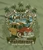 T Shirts • Vehicle Related • Surfcity Woody by Greg Dampier All Rights Reserved.