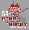 T Shirts • Travel Souvenir • Pond Hokey Lake George by Greg Dampier All Rights Reserved.