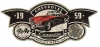 T Shirts • Vehicle Related • Corvette Seal Sticker by Greg Dampier All Rights Reserved.