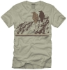 T Shirts • Travel Souvenir • Lake George Crows by Greg Dampier All Rights Reserved.