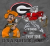 T Shirts • Sporting Events • Bulldog Thing by Greg Dampier All Rights Reserved.