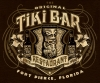 T Shirts • Business Promotion • Tiki Bar And Restaurant Tee 2 by Greg Dampier All Rights Reserved.