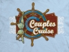 T Shirts • Travel Souvenir • Couples Cruise With Bikini by Greg Dampier All Rights Reserved.