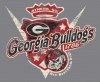 T Shirts • Sporting Events • Georgia Bulldogs Vintage by Greg Dampier All Rights Reserved.