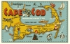 Illustration • Full Color • Cape Codpost Card by Greg Dampier All Rights Reserved.