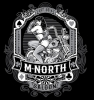 T Shirts • Vehicle Events • M North Saloon Pinup 2021 by Greg Dampier All Rights Reserved.