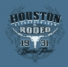 T Shirts • Sporting Events • Houston Rodeo 3 by Greg Dampier All Rights Reserved.