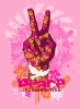 Branding • Peace Fingers Dove by Greg Dampier All Rights Reserved.