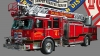 T Shirts • Vehicle Related • Orland Fire Dept Fire Engine Alone by Greg Dampier All Rights Reserved.