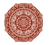 T Shirts • Travel Souvenir • Mandala Design 7 by Greg Dampier All Rights Reserved.