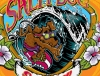Illustration • Full Color • Salty Dog Surfer Dude by Greg Dampier All Rights Reserved.