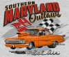 T Shirts • Vehicle Related • Maryland Outlaws Belair by Greg Dampier All Rights Reserved.