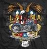 T Shirts • Vehicle Related • Lama Jacksonville Motorcycle Tee by Greg Dampier All Rights Reserved.