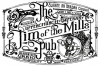 T Shirts • Business Promotion • Jim Of The Mill Pub Tee Art by Greg Dampier All Rights Reserved.