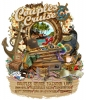 Illustration • Full Color • Couples Cruise Suitcase by Greg Dampier All Rights Reserved.