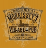 T Shirts • Travel Souvenir • Morrisseys Village Pub by Greg Dampier All Rights Reserved.