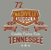 T Shirts • Vehicle Related • Nashville Muscle by Greg Dampier All Rights Reserved.