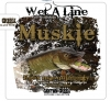 T Shirts • Business Promotion • Muskie Fishing Tee by Greg Dampier All Rights Reserved.
