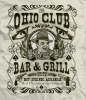 T Shirts • Business Promotion • Ohio Club Bar And Grill by Greg Dampier All Rights Reserved.