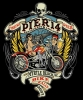 T Shirts • Vehicle Events • Pier 14 Bike Rally 07 by Greg Dampier All Rights Reserved.