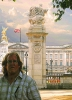 Fine Art • Greg Dampier Self Portrait Buckingham Palace Full by Greg Dampier All Rights Reserved.