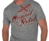 T Shirts • Travel Souvenir • Original Rebel Flag by Greg Dampier All Rights Reserved.