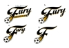 Logos • Fury Soccer Club Logos by Greg Dampier All Rights Reserved.