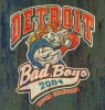 T Shirts • Sports Related • Detroit Bad Boys by Greg Dampier All Rights Reserved.