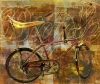 Fine Art • Abstract Sting Ray Bicycle by Greg Dampier All Rights Reserved.