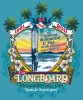 T Shirts • Business Promotion • Longboards Restaurant And Pub by Greg Dampier All Rights Reserved.
