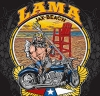 T Shirts • Vehicle Related • Lama Neptune Beach Design by Greg Dampier All Rights Reserved.