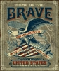 T Shirts • Travel Souvenir • Home Of The Brave Sign by Greg Dampier All Rights Reserved.